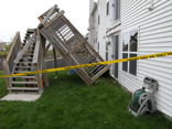 Cary Illinois Deck Collapse 2