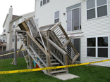 Cary Illinois Deck Collapse 1