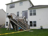 Cary Illinois Deck Collapse 3