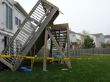 Cary, Illinois Deck Collapse 4