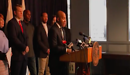 Corboy & Demetrio Client Tregg Duerson Speaks at News Conference Announcing Dave Duerson Act