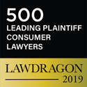 500 Leading Plaintiff Consumer Lawyers, Lawdragon 2019